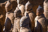 """The Terracotta Army or the """"Terra Cotta Warriors and Horses"""" — Stock Photo"""