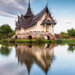 Sanphet Prasat Palace, Ancient City — Stock fotografie