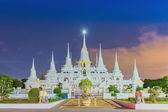 Wat asokaram Temple in Samut Prakan Thailand  — Foto de Stock