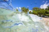 Water splashes — Stock Photo