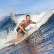 Male surfer — Stock Photo