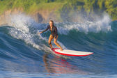 Surfer girl — Foto de Stock