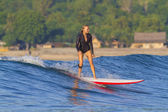 Surfer girl — Foto Stock