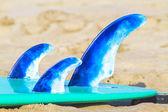 Surf board fins — Foto de Stock