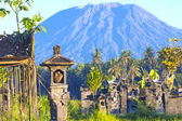 Mt. Agung, Amed, Bali. — Stock Photo