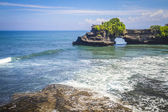 Tanah Lot Temple on Sea — Stock Photo