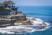 Tanah Lot Temple on Sea — Zdjęcie stockowe