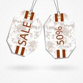 Sale tags design — Stock Vector