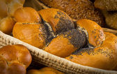 Bread and buns — Stock Photo