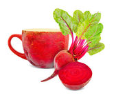 Beetroot tea — Stockfoto
