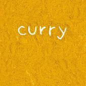Tekstura curry — Zdjęcie stockowe