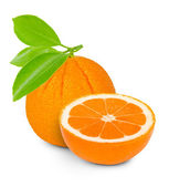 Orange isolated — Stock Photo
