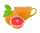 Grapefruit tea — Stock Photo