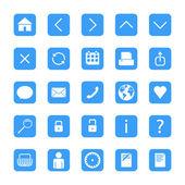 Minimalist web buttons — Vetorial Stock