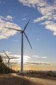Wind Turbines at Sunrise 5 — Stock Photo