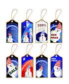 圣诞标记集的 — 图库矢量图片
