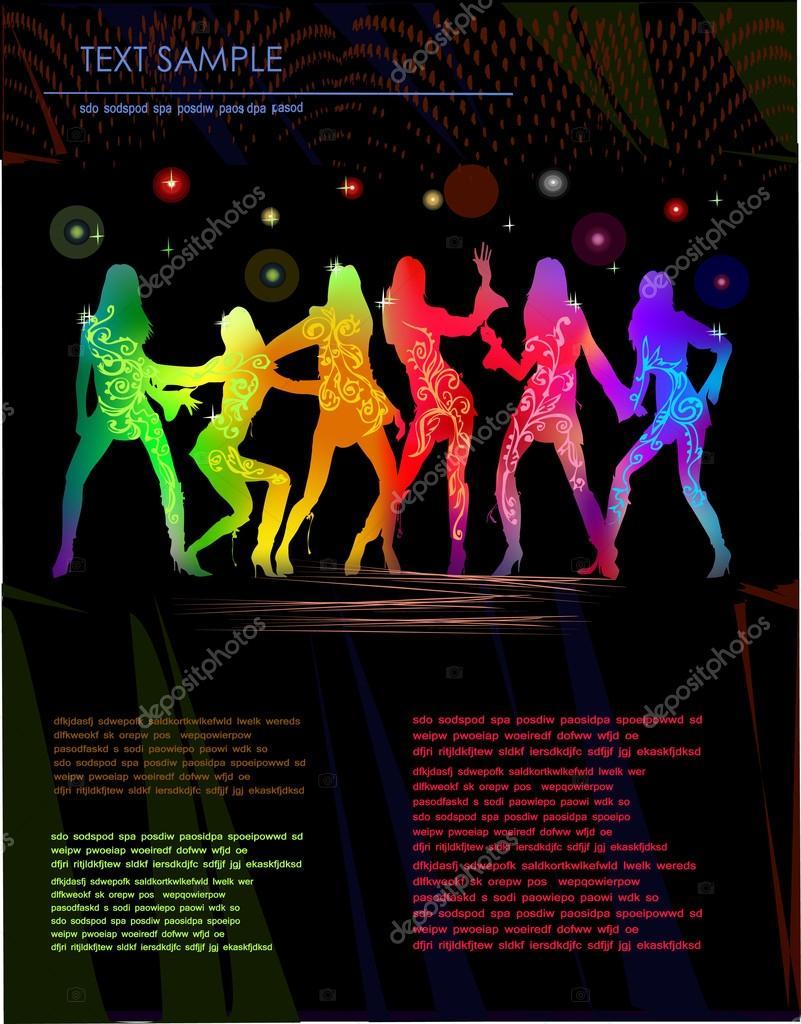 página web escoltas bailando