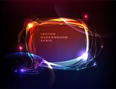 Neon collection Bubble — Vettoriale Stock