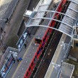 Stock Photo: DLR station London, Docklands light railway