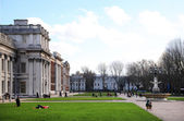 Greenwich park, Royal Navy college and Maritime museum — 图库照片
