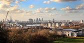 Widok z londynu, dzielnicy biznesowej — Zdjęcie stockowe