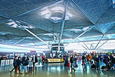 STANSTED AIRPORT-23 FEBRUARY 2014 — Stock Photo