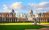 London, UK - FEB 02, 2014: Greenwich museums, Naval chapel — Stock Photo