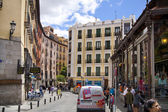 MADRID, SPAIN - MAY 28, 2014:  Mercado San Miguel market, famous food market in the centre of Madrid — Foto Stock