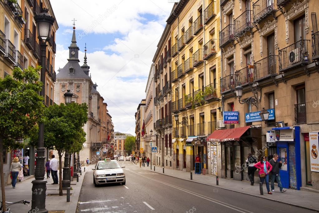 Centre Ville De Segovie Espagne