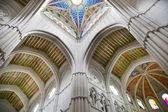 MADRID, SPAIN - MAY 28, 2014: Cathedral Santa Maria la Real de La Almudena in Madrid, Spain. — Stock Photo
