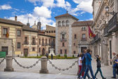 MADRID, SPAIN - MAY 28, 2014: Madrid city centre government building — Stock Photo