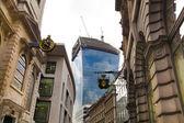 LONDON, UK - APRIL 24, 2014: Modern office buildings City of London — Stock Photo