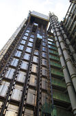 LONDON, UK - APRIL 24, 2014: Modern architecture City of London, Lloyd's bank — Stock Photo
