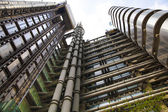 LONDON, UK - APRIL 24, 2014: Modern architecture City of London, Lloyd's bank — 图库照片