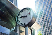 LONDON, UK - August 4, 2014: Canary Wharf DLR docklands station in London — Stock Photo