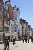 LONDON, UK - JULY 03, 2014: Bond street boutiques, street of famous small fashion businesses — Stock Photo
