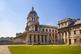 LONDON, UK - MAY 15, 2014: Greenwich park, painted hall and Queen's palace. Classic Architecture of British empire period — Stock Photo