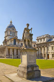 LONDON, UK - MAY 15, 2014: Greenwich park, painted hall and Queen's palace. Classic Architecture of British empire period — Stock fotografie