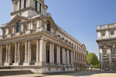 лондон, великобритания - 15 мая 2014: greenwich park, окрашены зал и дворец королевы. классической архитектуры британской период империи — Стоковое фото