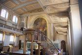 LONDON, UK - MAY 15, 2014: Organ in Royal Chapel in Greenwich, London — Stock Photo
