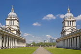 LONDON, UK - MAY 15, 2014: Greenwich park, painted hall and Queen's palace. Classic Architecture of British empire period — Stockfoto