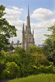 LONDON UK - JUNE15, 2014: Greenwich, Old English park south of London — Stock Photo