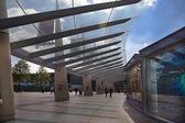 LONDON, UK - MAY 18, 2014 O2 Arena, hall with cinema entrance — Stock Photo