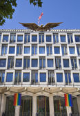 LONDON, UK - JUNE 3, 2014: USA embassy in London — Foto Stock