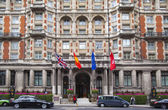 London, Storbritannien - 3 juli 2014: mandarin oriental hotel nära harrods, knightsbridge — Stockfoto