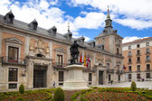 Madrid, Espagne - 28 mai 2014 : bâtiments de gouvernement dans le vieux centre de madrid — Photo