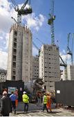 Londres, reino unido - 30 de junho de 2014: novo grande desenvolvimento em banco de ária de inglaterra — Fotografia Stock