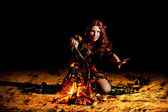 The sorceress — Stock Photo