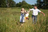 Felicità familiare — Foto Stock
