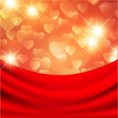 Heart for Valentines Day Background — Vettoriale Stock